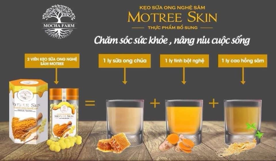 Kẹo sữa ong nghệ sâm